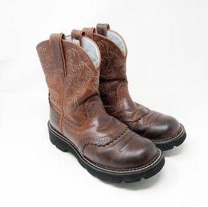 Ariat FatBaby Saddle Boots - 7.5